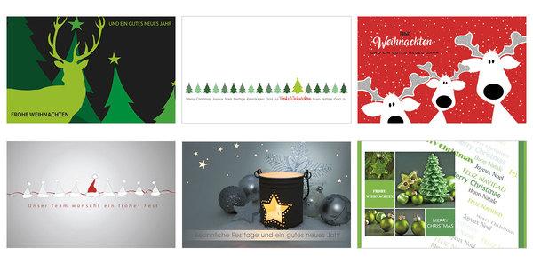 Kallos Verlag Stilvolle Weihnachtskarten Für Firmen