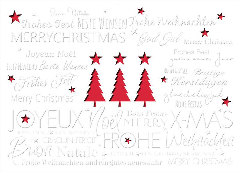 drei mit stern au ergew hnliche weihnachtskarten f r firmen. Black Bedroom Furniture Sets. Home Design Ideas