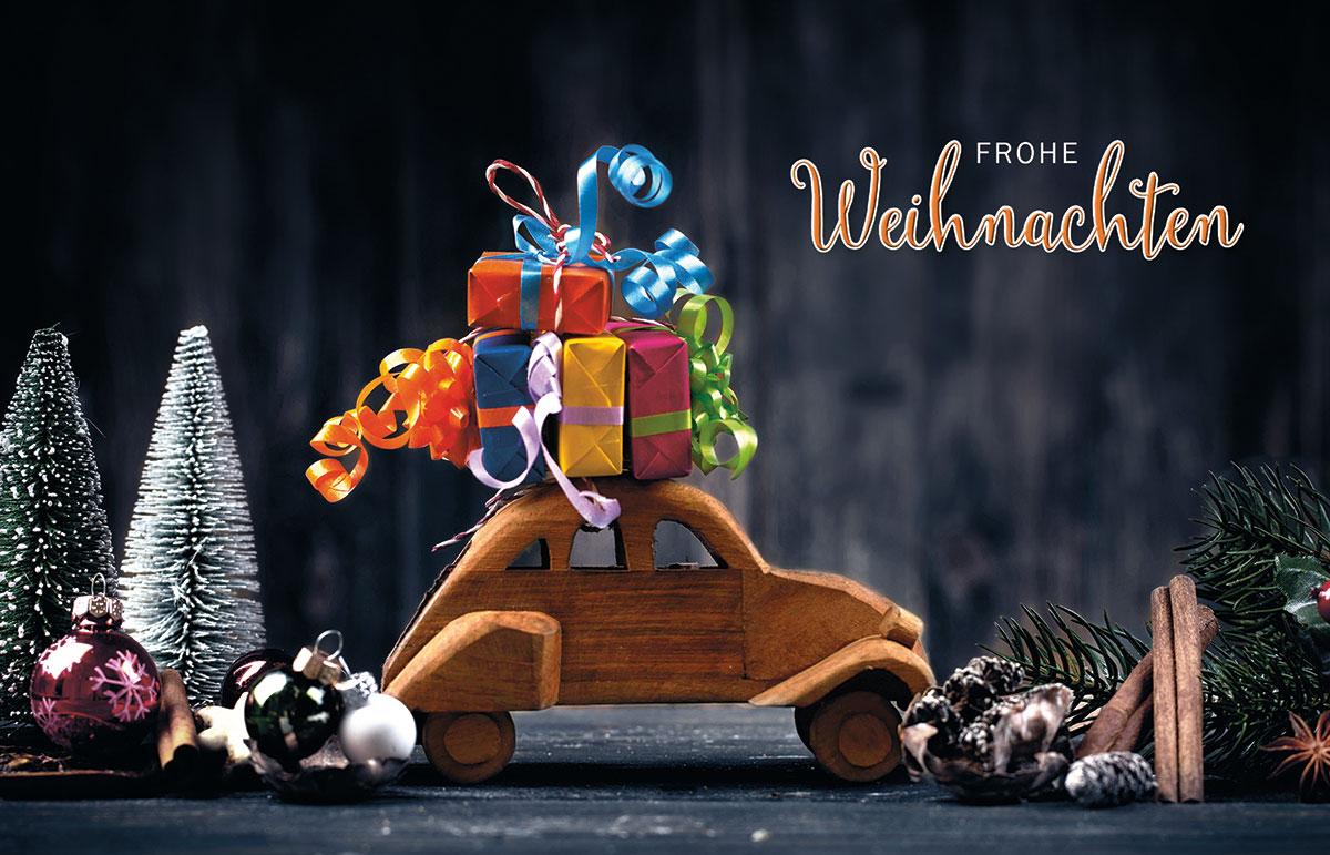 carsharing au ergew hnliche weihnachtskarten f r firmen. Black Bedroom Furniture Sets. Home Design Ideas