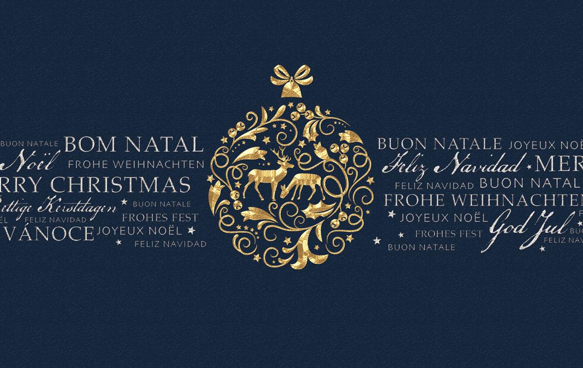 kugel und ornamente au ergew hnliche weihnachtskarten. Black Bedroom Furniture Sets. Home Design Ideas