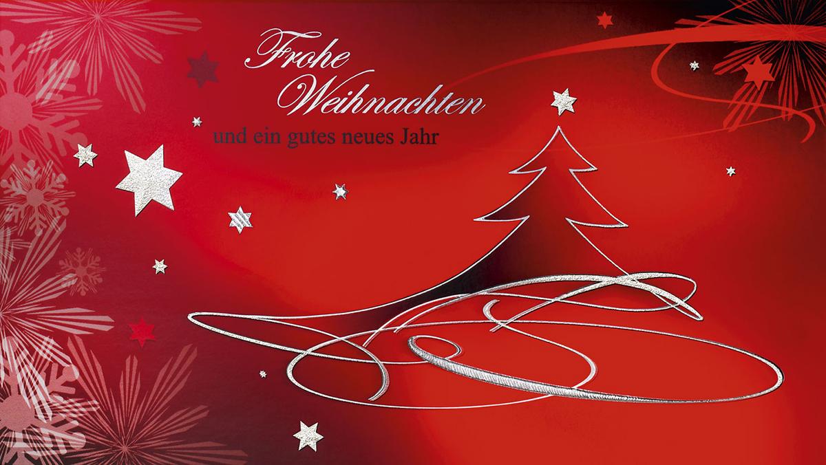 Schwungvolle Grüße - Außergewöhnliche Weihnachtskarten für Firmen