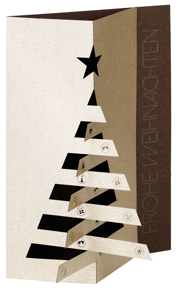 Einlegeblätter Für Weihnachtskarten.Knick Außergewöhnliche Weihnachtskarten Für Firmen