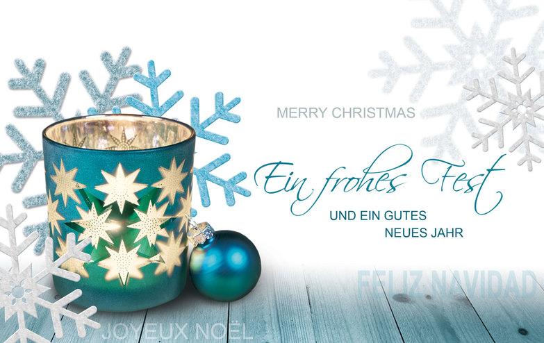 Fotostil - Weihnachtskarten Online Kollektion 2018 | Kallos Verlag