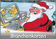 Originelle Weihnachtskarten mit Branchenmotiven