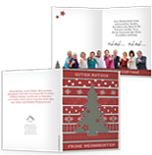 Auf weihnachtskarten.de online Ihre Weihnachtskarte ganz einfach selbst gestalten